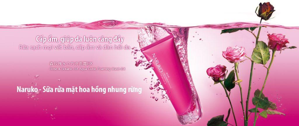 Kết quả hình ảnh cho Sữa rửa mặt tạo bọt Rose & Botanic HA Aqua Cubic Foaming Wash EX